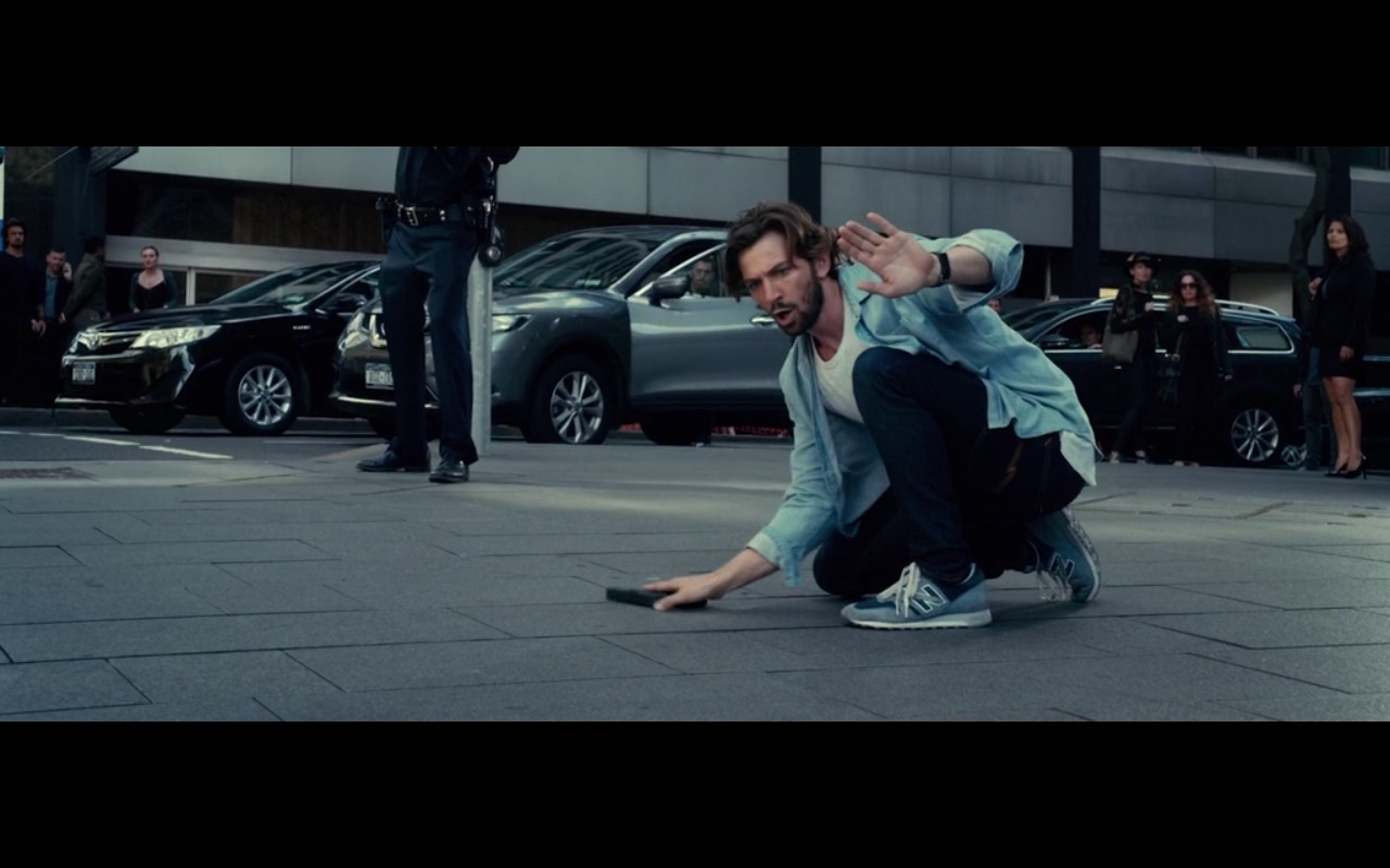 New Balance Sneakers - 2:22 (2017) Movie Product Placement
