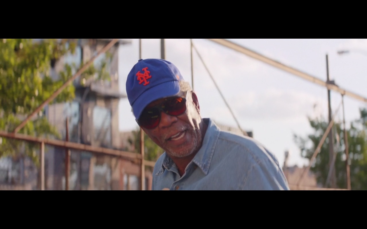 New York Giants Cap – Going in Style (2017) Movie Product Placement