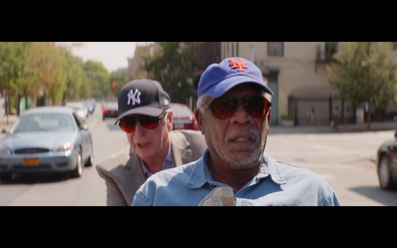 New York Giants & New York Yankees Caps – Going in Style (2017) Movie Product Placement