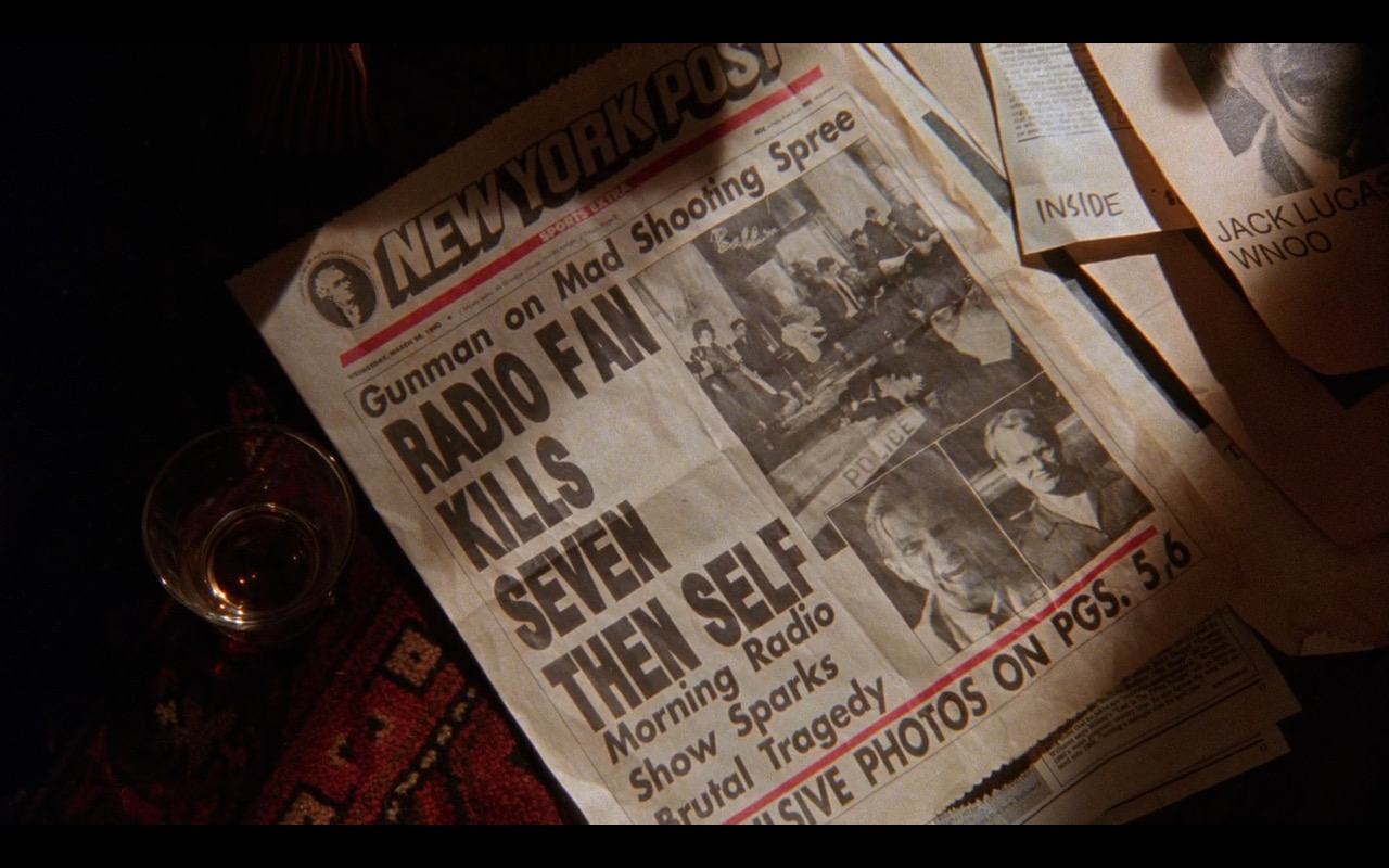New York Post Newspaper - The Fisher King (1991) Movie Product Placement