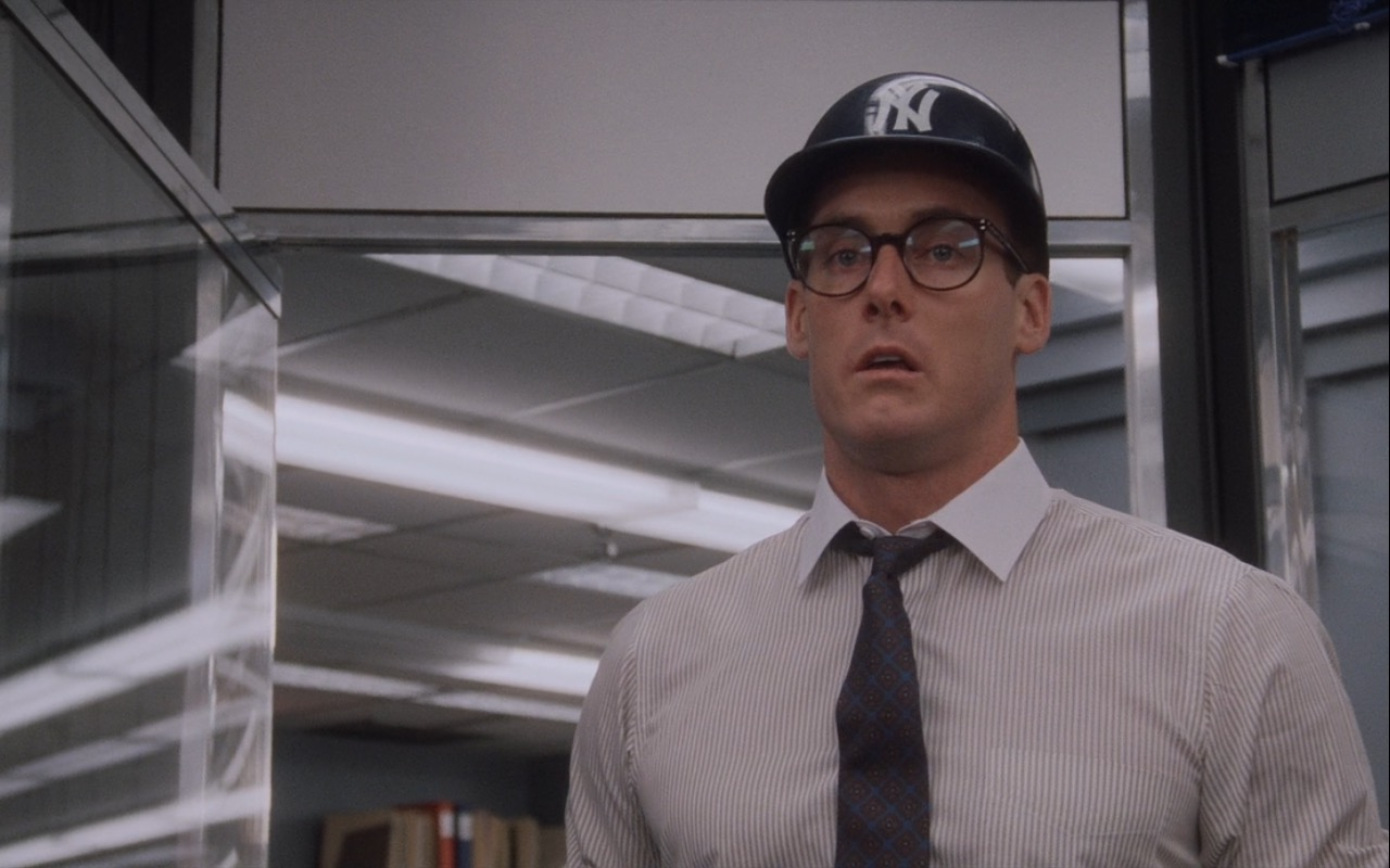 New York Yankees Cap/Helmet - Wall Street (1987) Movie Product Placement