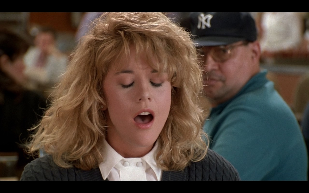 New York Yankees Caps – When Harry Met Sally… (1989) Movie Product Placement