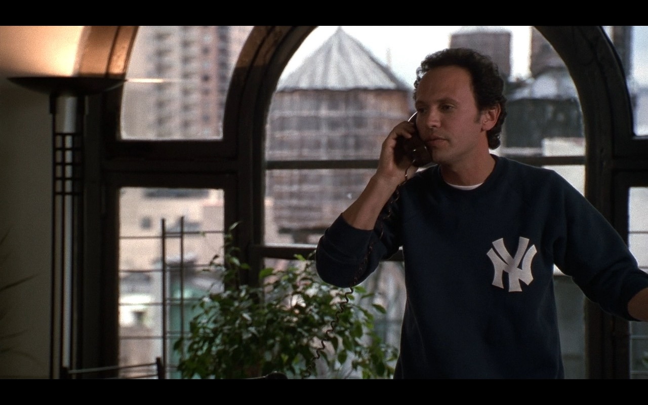 New York Yankees Sweatshirt – When Harry Met Sally… (1989) Movie Product Placement