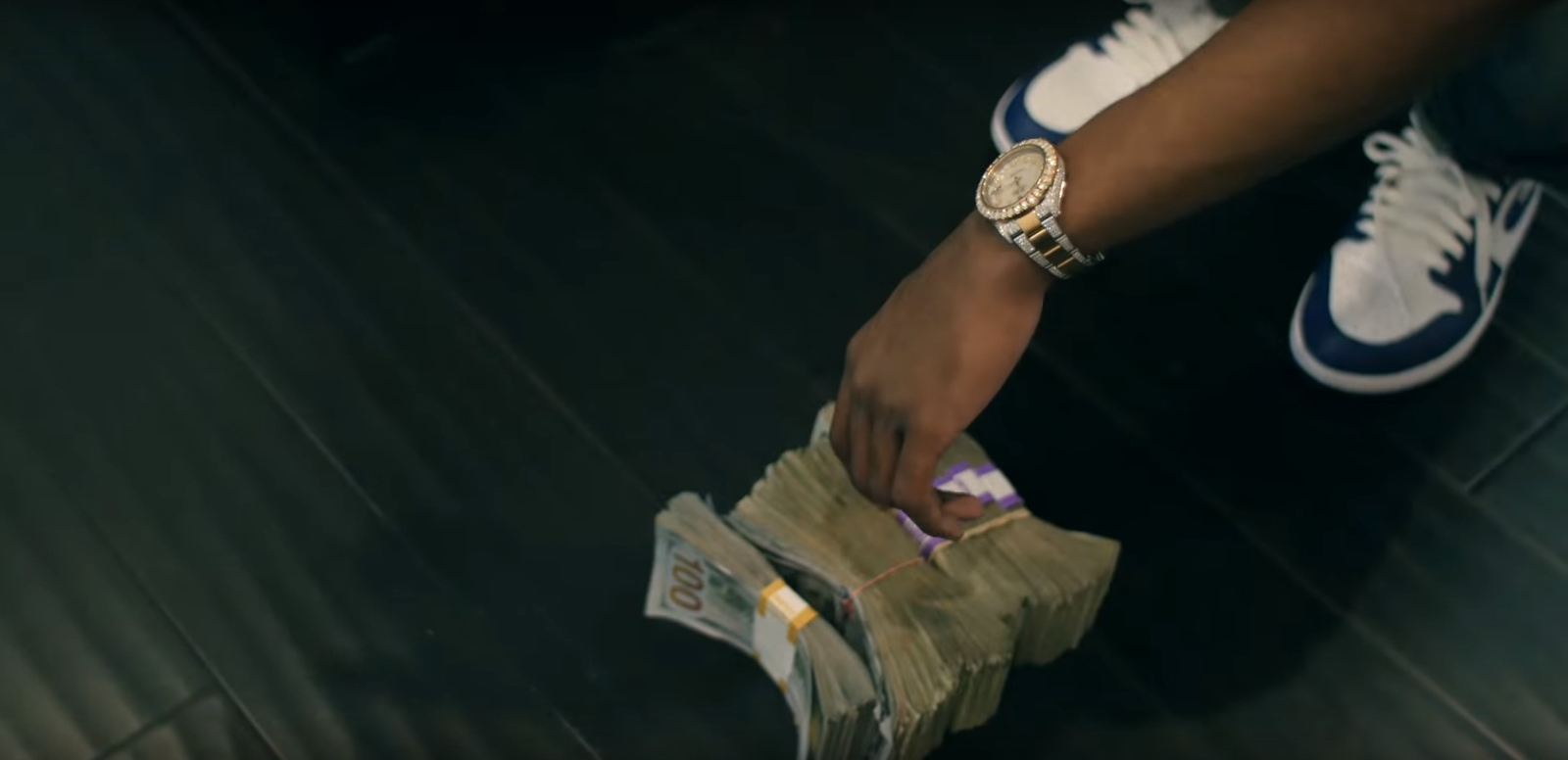 Nike Air Jordan Shoes And Rolex Watch - 41 - YoungBoy Never Broke Again (2017) Official Music Video Product Placement