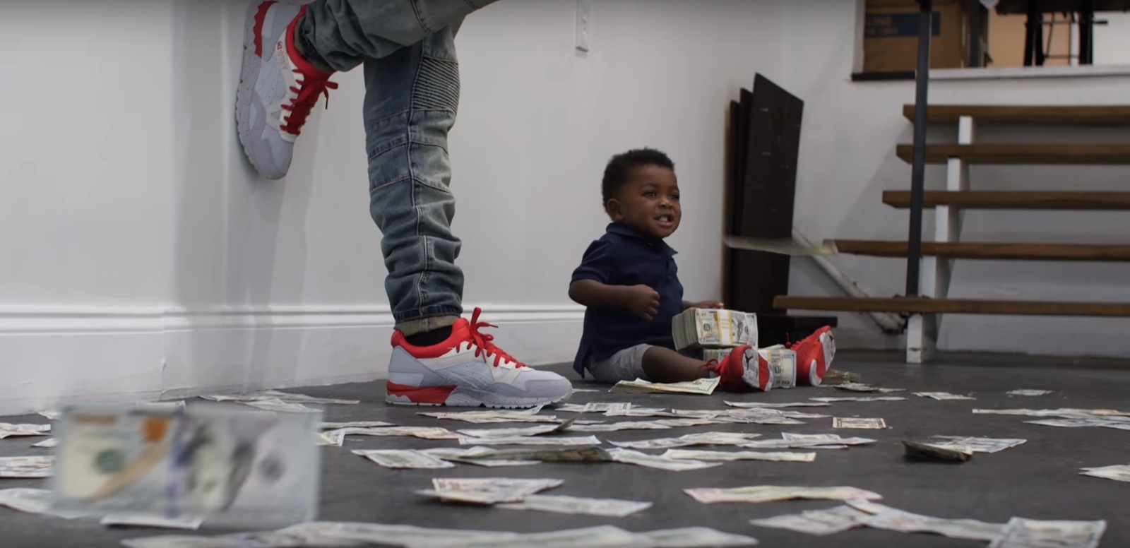 Nike Air Jordan Sneakers – YoungBoy Never Broke Again – Graffiti (2017) Official Music Video Product Placement