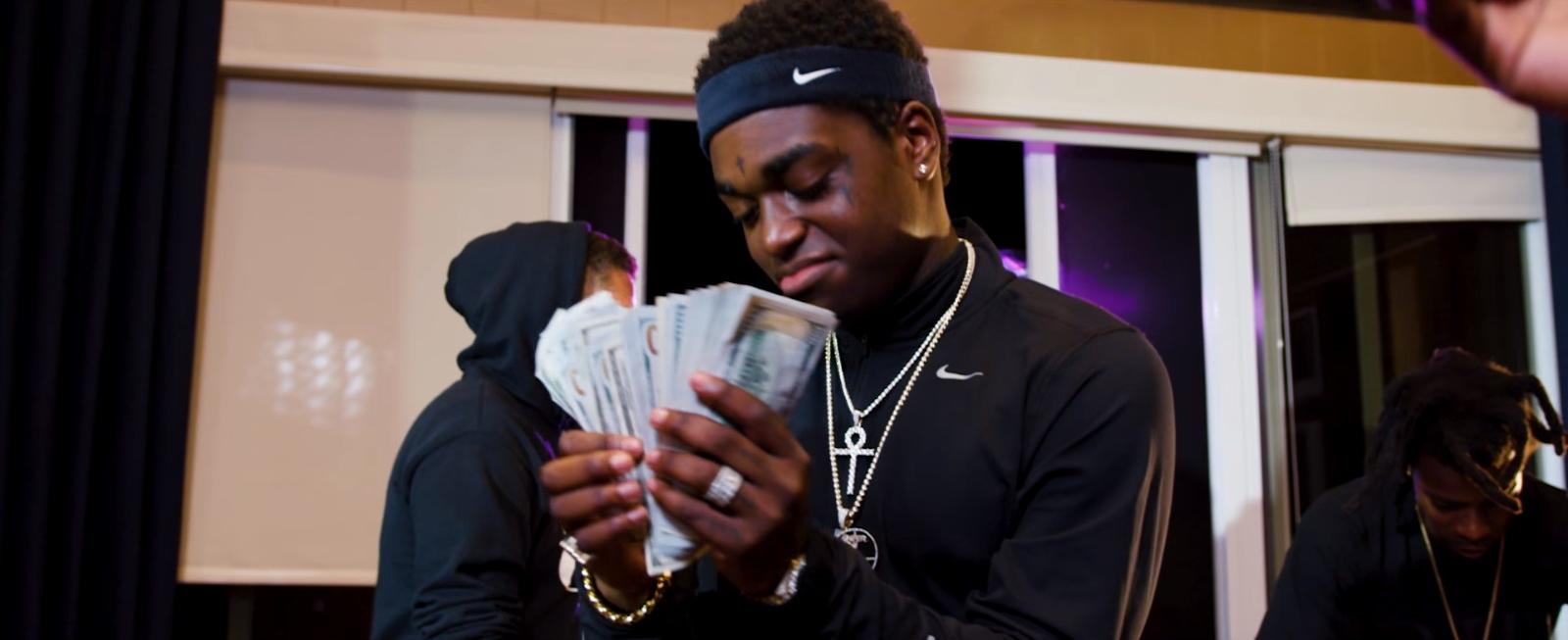Nike Jacket And Headband - Kodak Black - First Day Out Official Music Video Product Placement