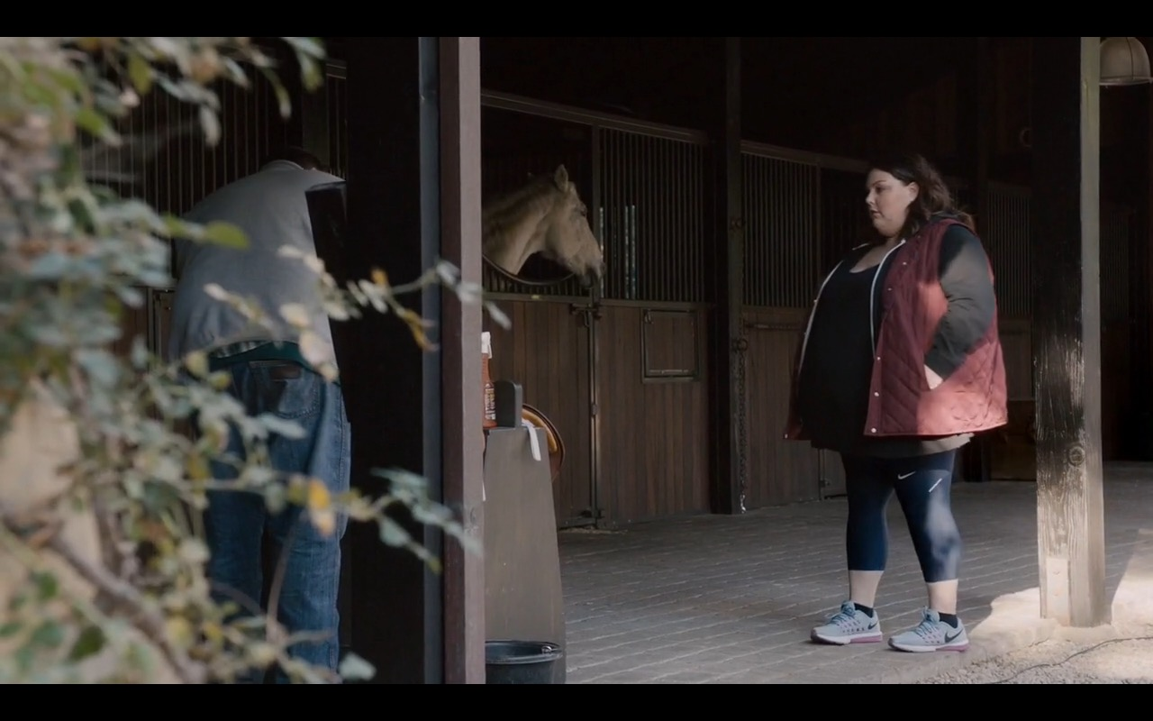 Nike Leggings And Sneakers - This Is Us - TV Show Product Placement