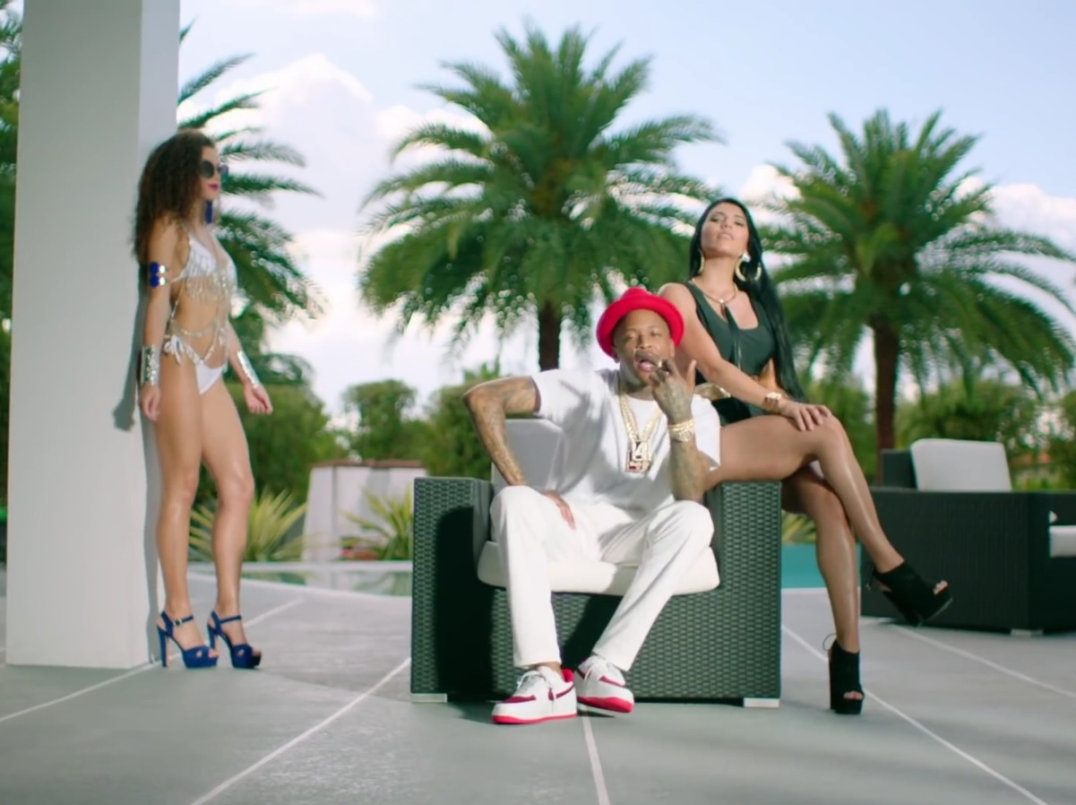 Nike Shoes - Future - Extra Luv ft. YG Official Music Video Product Placement