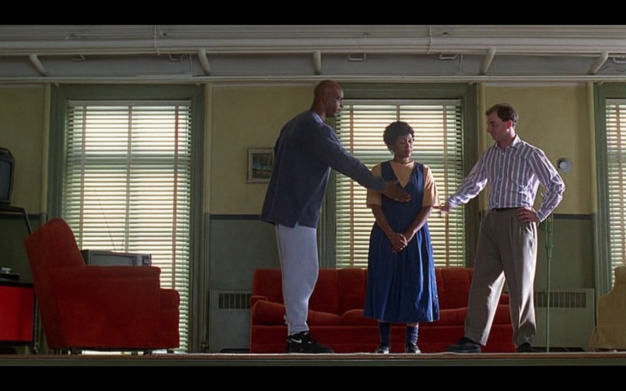 Nike Black Sneakers - Major Payne (1995) - Movie Product Placement