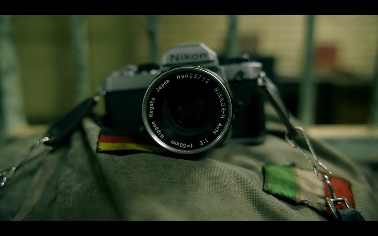 Nikon Photo Camera - The Journey Is the Destination (2016) Movie Product Placement