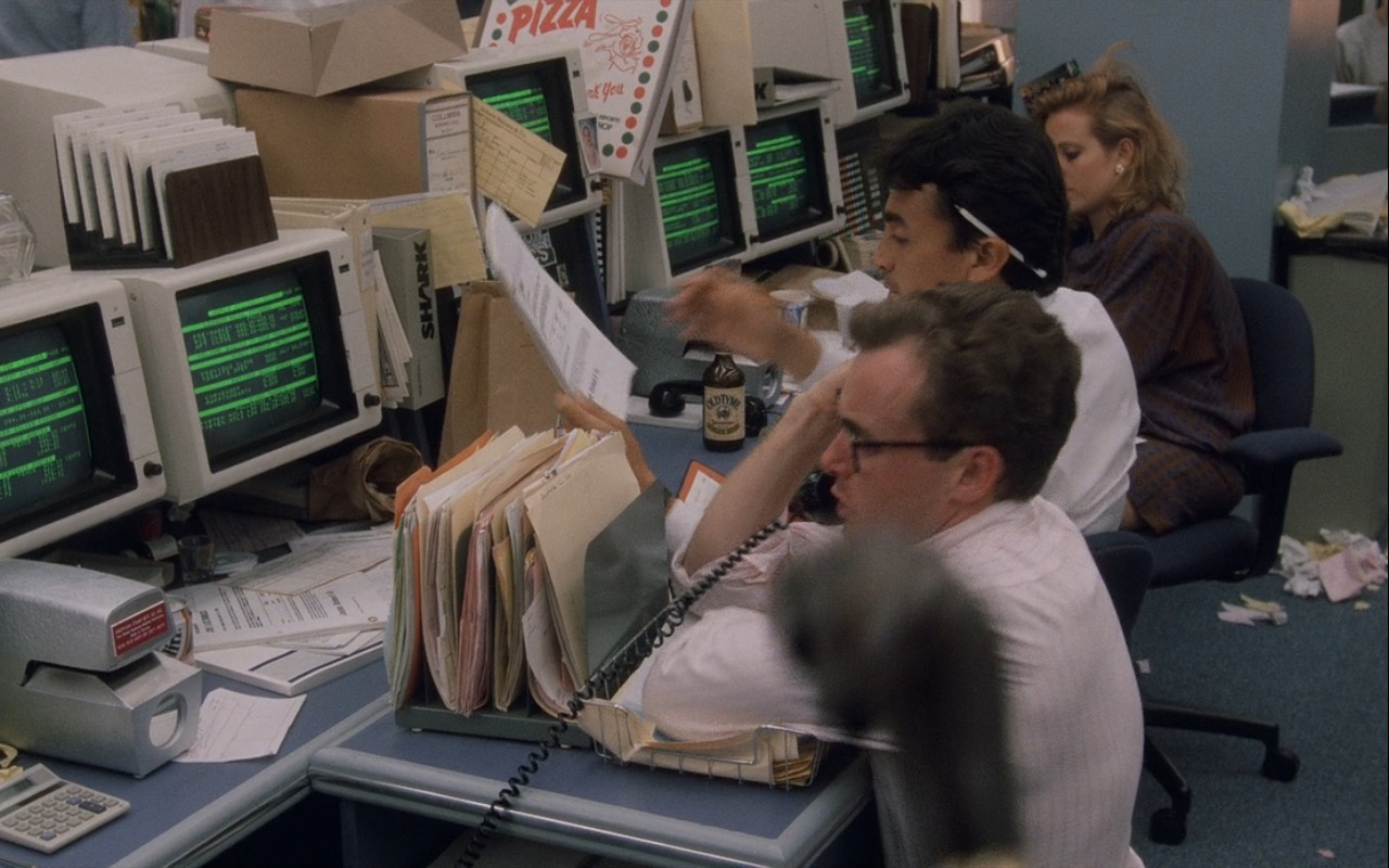 Old Tyme Ginger Beer – Wall Street (1987) Movie Product Placement