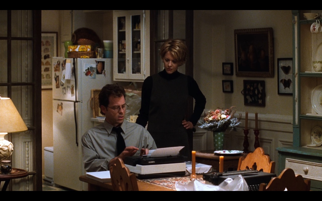 Olympia Werke Typewriter – You've Got Mail (1998) Movie Product Placement