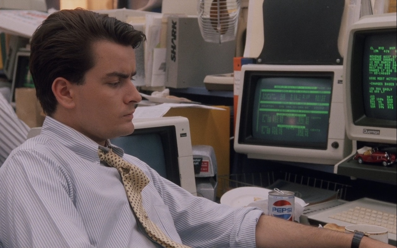 Pepsi – Wall Street (1987) Movie Product Placement