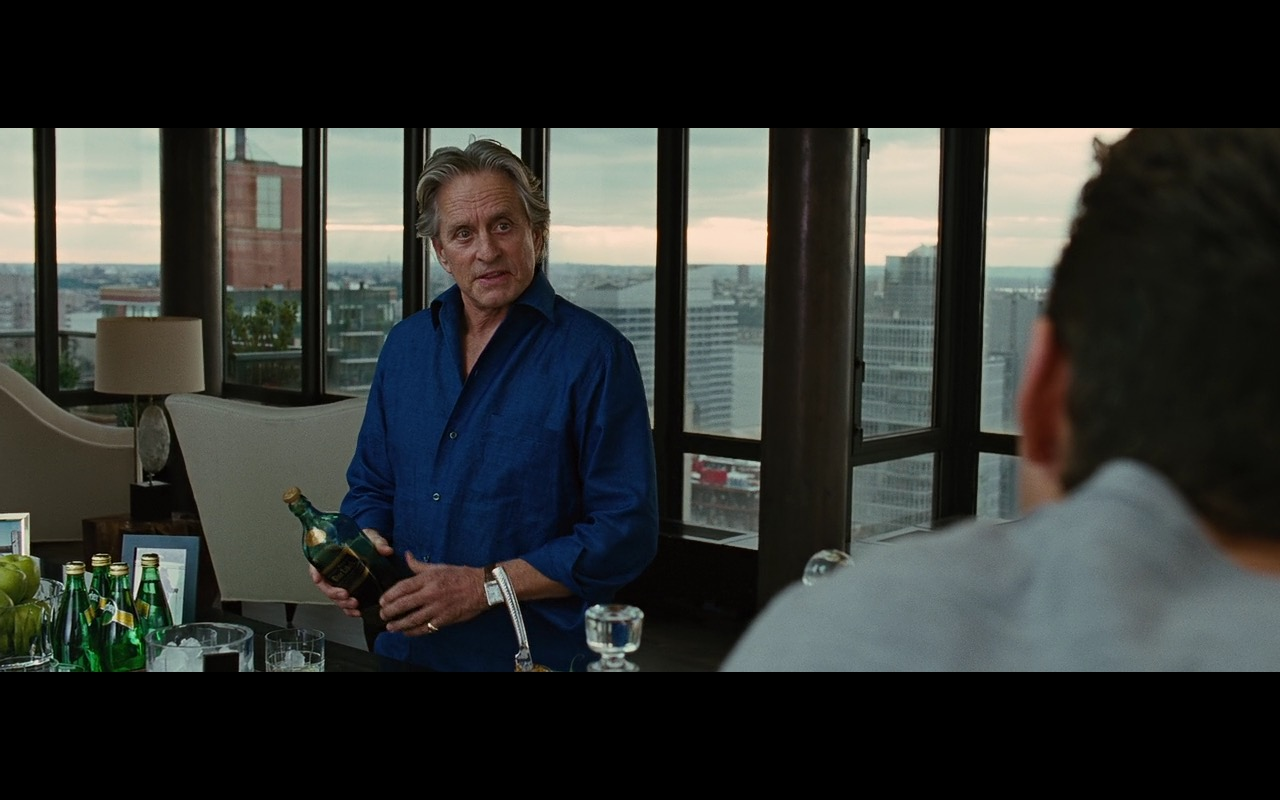 Perrier And Johnnie Walker Blue Label – Wall Street: Money Never Sleeps (2010) Movie Product Placement