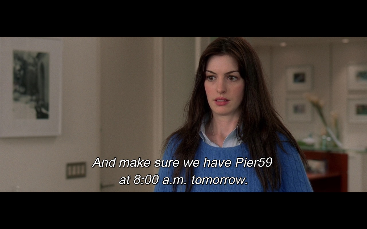 Pier59 Studios – The Devil Wears Prada (2006) Movie Product Placement