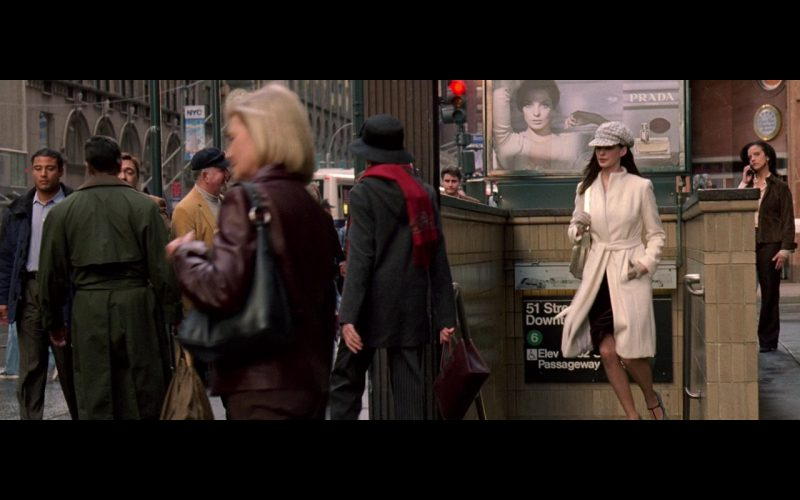 Prada Fragrance Outdoor Advertising – The Devil Wears Prada (2006)