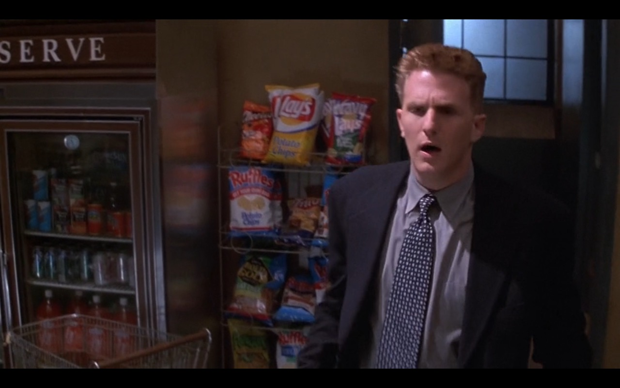 RUFFLE Original Potato Chips & Lay's – Metro (1997) Movie Product Placement