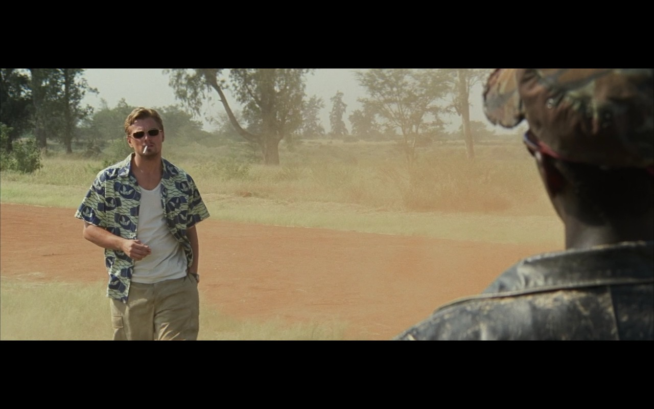 Ray-Ban Sunglasses - Blood Diamond (2006) Movie Product Placement