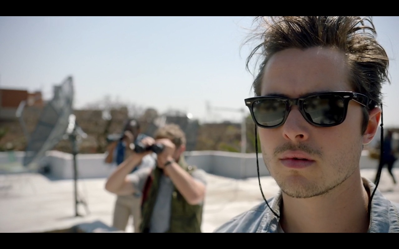Ray-Ban Wayfarer Sunglasses  - The Journey Is the Destination (2016) Movie Product Placement
