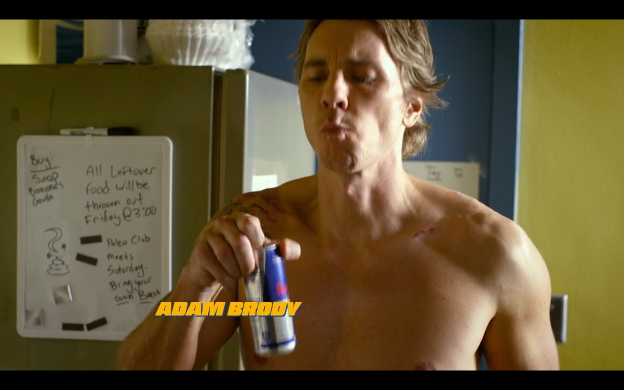 Red Bull – CHIPS (2017) Movie Product Placement