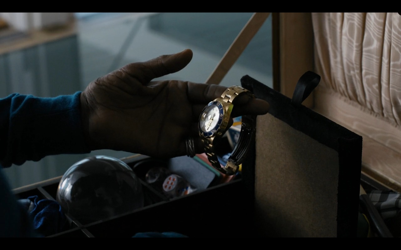 Rolex Gold Watch - Sneaky Pete TV Show Product Placement