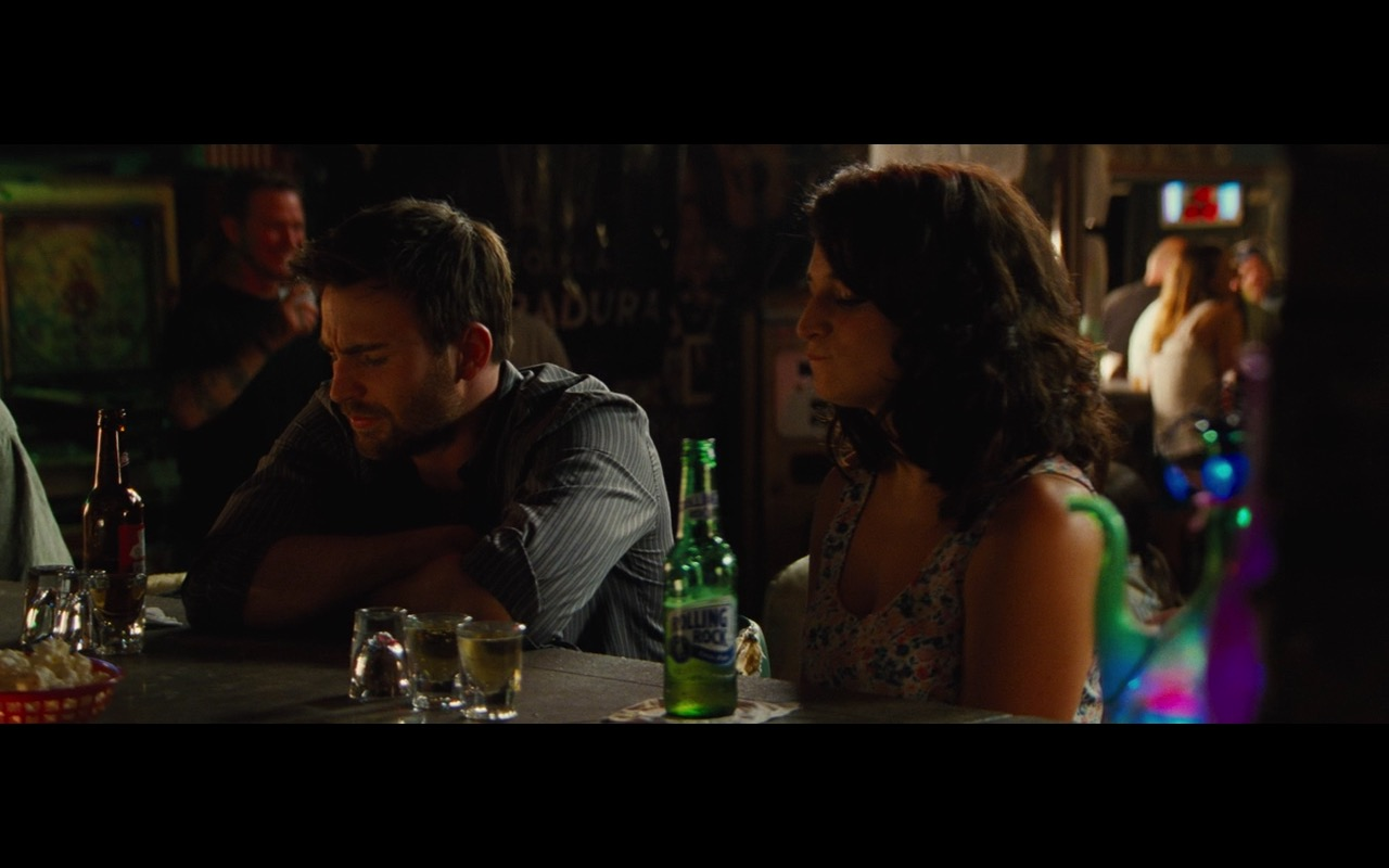 Rolling Rock & Budweiser Beers - Gifted (2017) Movie Product Placement