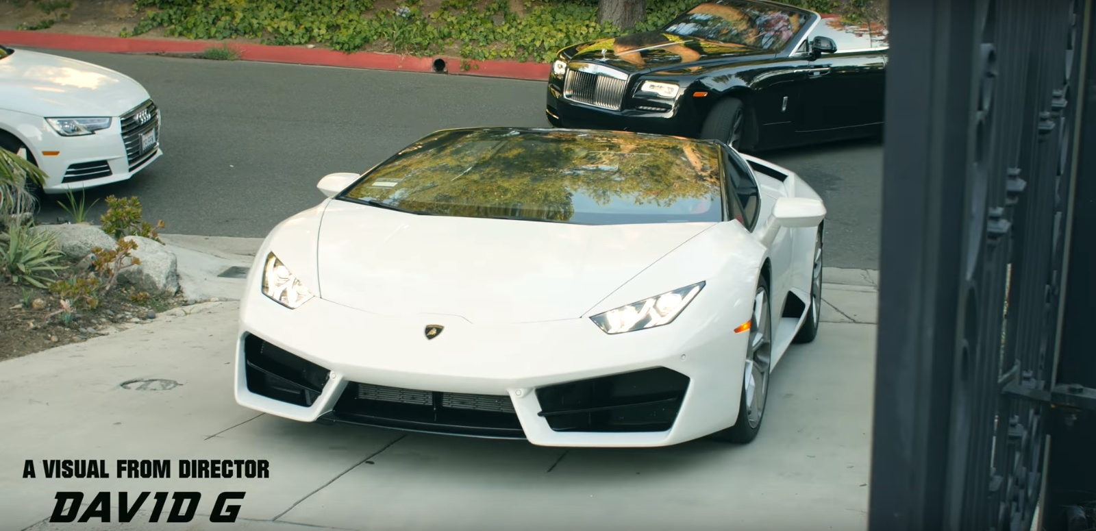 Rolls-Royce Dawn And Lamborghini Huracán – 41 – YoungBoy Never Broke Again (2017) - Official Music Video Product Placement