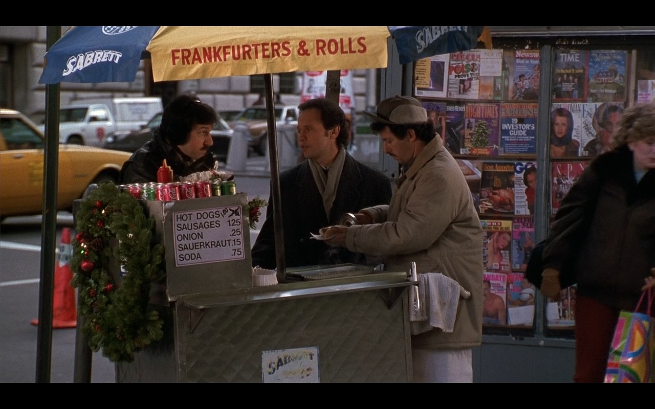 Sabrett Hot Dogs – When Harry Met Sally… (1989) Movie Product Placement
