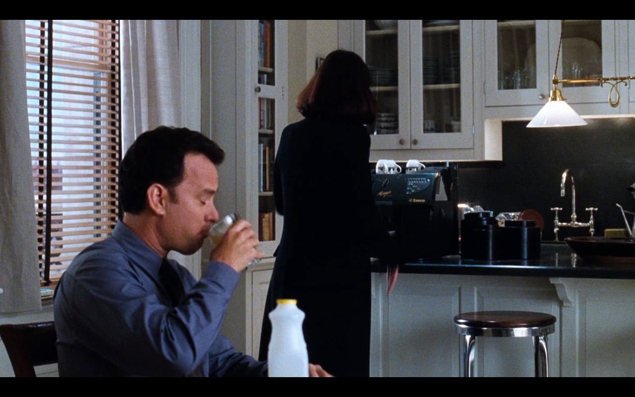 Saeco Magic DeLuxe Coffee Machine – You've Got Mail (1998) Movie Product Placement