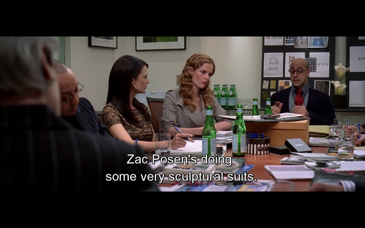 San Pellegrino And Zac Posen – The Devil Wears Prada (2006) Movie Product Placement