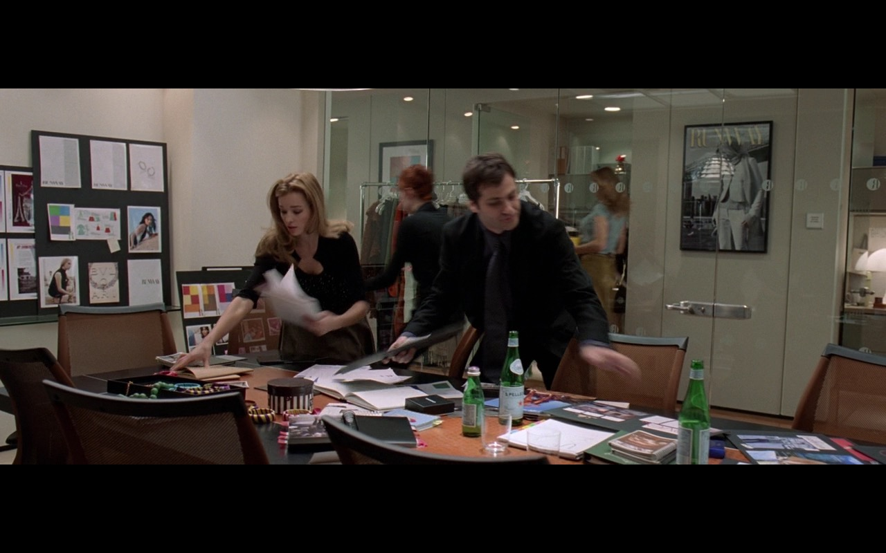 San Pellegrino Mineral Water – The Devil Wears Prada (2006) Movie Product Placement