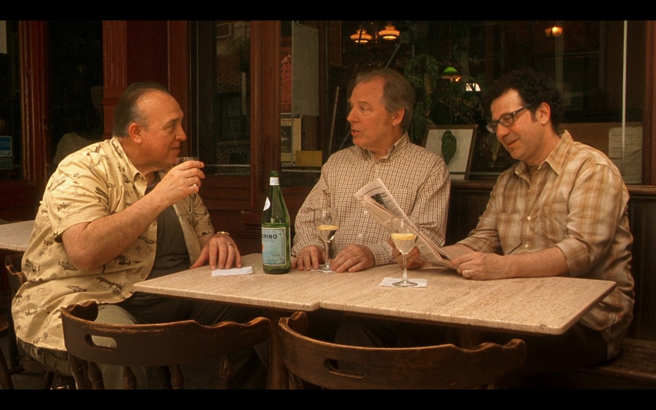 San Pellegrino Mineral Water – Whatever Works (2009) Movie Product Placement