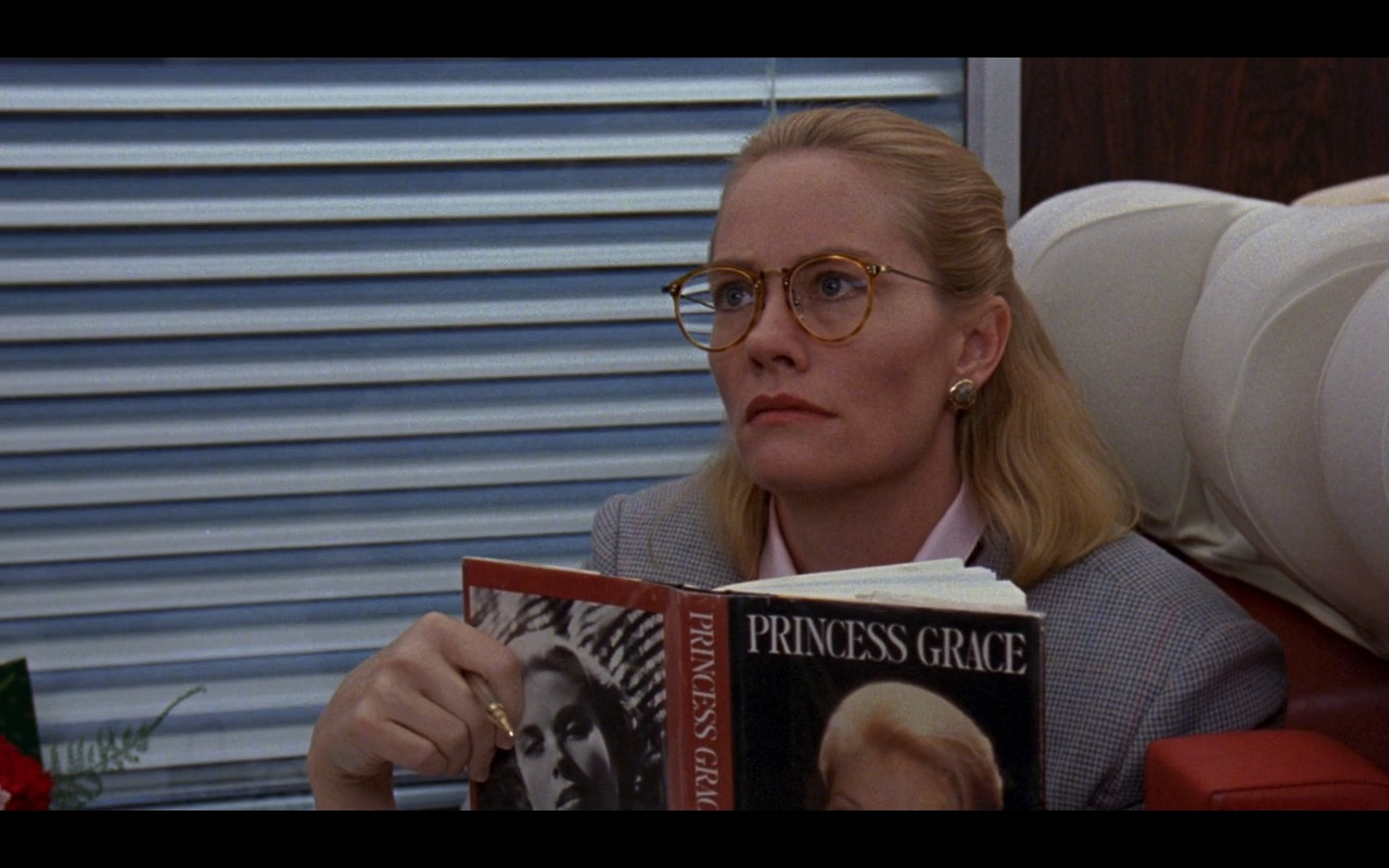 "Sarah Bradford ""Princess Grace"" Book - Once Upon a Crime (1992) Movie Product Placement"
