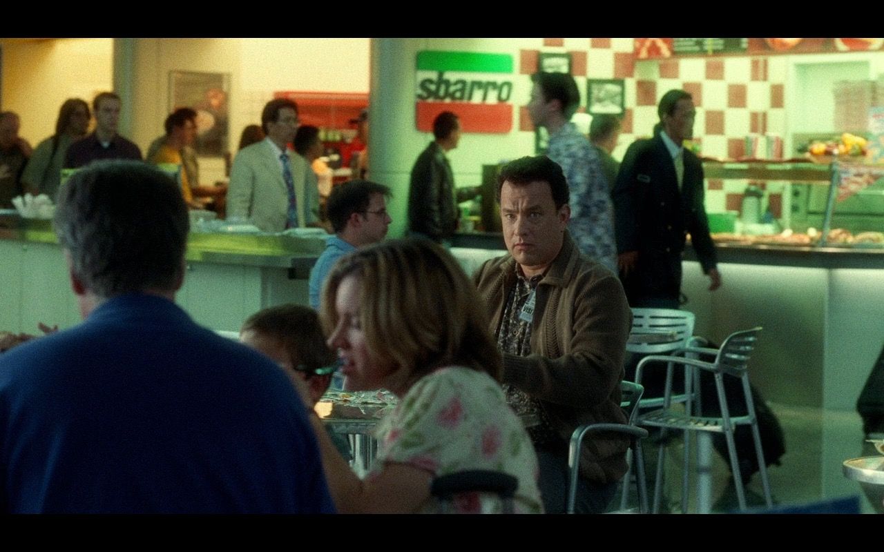 Sbarro Pizzeria – The Terminal (2004) Movie Product Placement