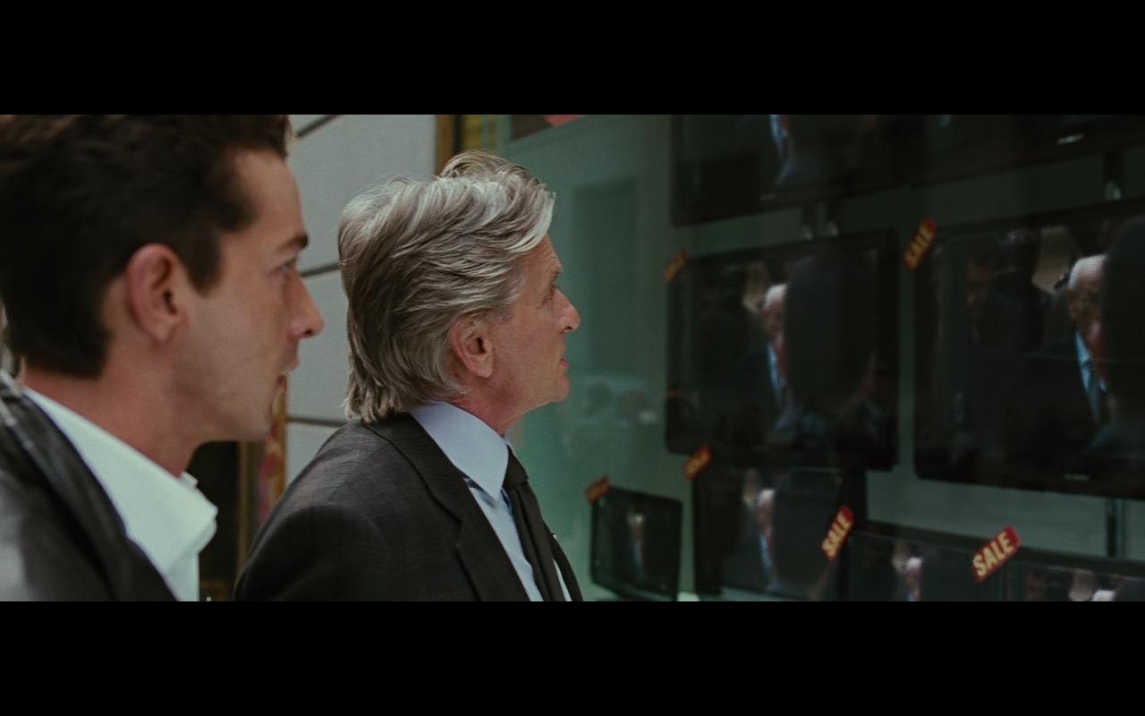 Sharp TV - Wall Street: Money Never Sleeps (2010) Movie Product Placement