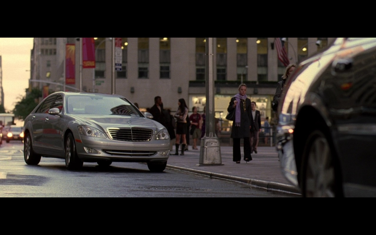 Silver Mercedes-Benz S500 - The Devil Wears Prada (2006) Movie Product Placement