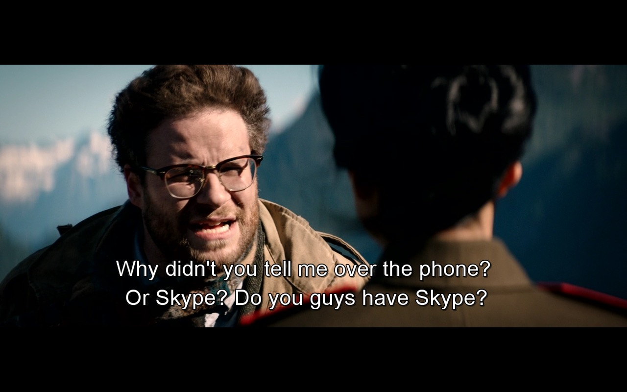 Skype – The Interview (2014) Movie Product Placement