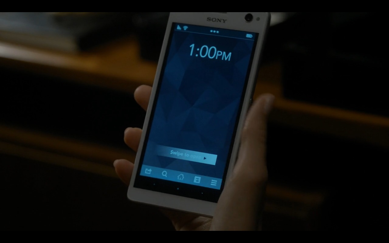 Sony Smartphone - Sneaky Pete TV Show Product Placement