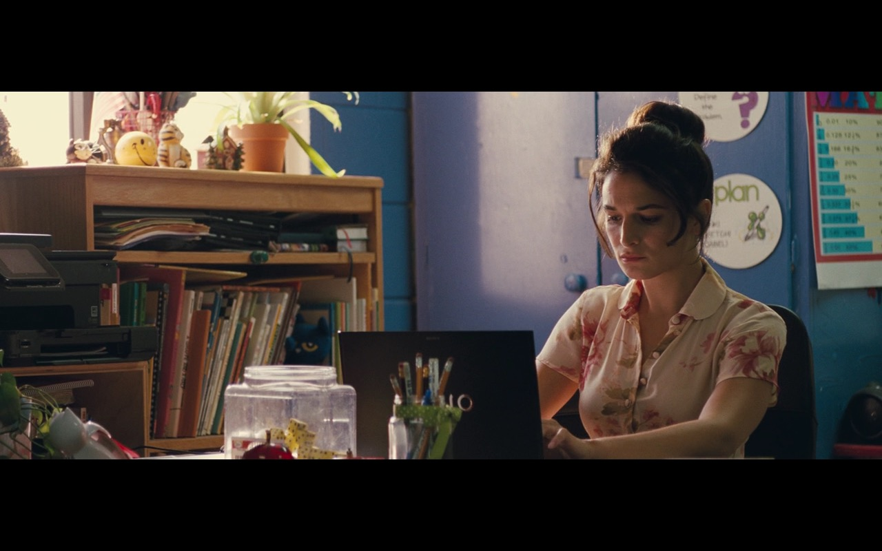 Sony VAIO Notebook - Gifted (2017) Movie Product Placement