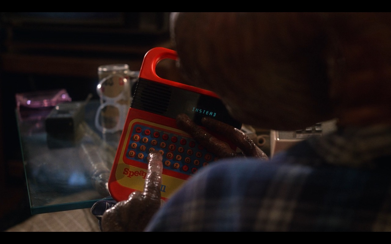 Speak & Spell (toy) - Texas Instruments – E.T. the Extra-Terrestrial (1982) Movie Product Placement