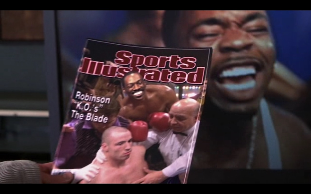Sports Illustrated Magazine – I Spy (2002) Movie Product Placement
