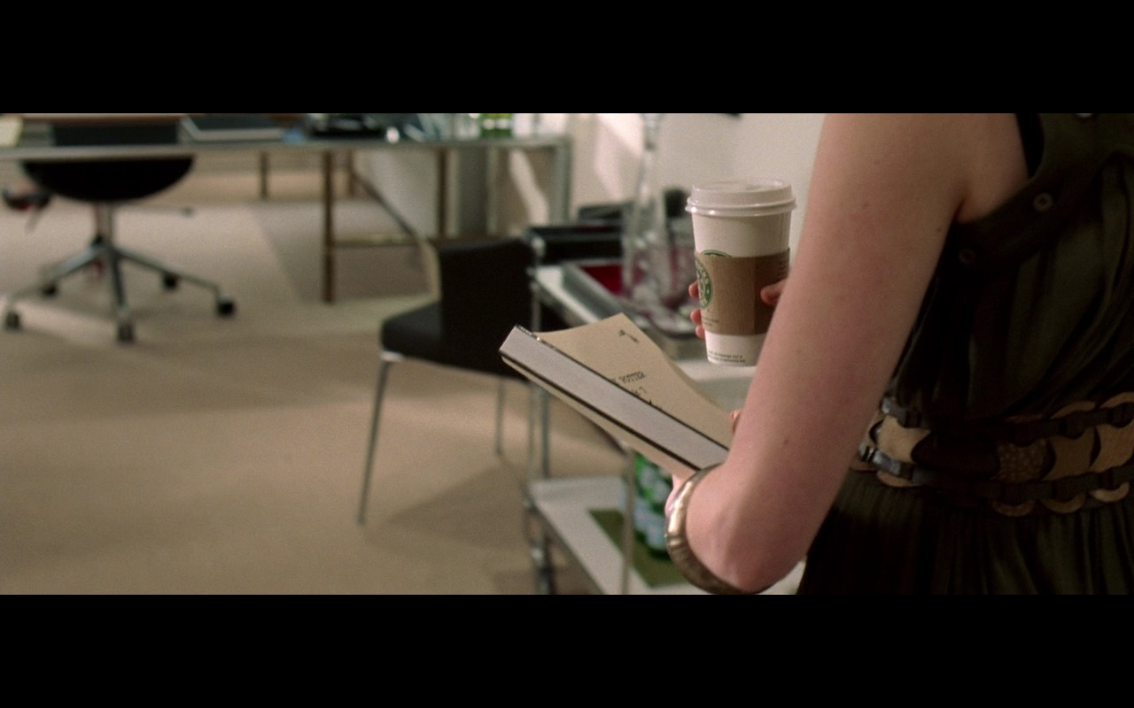 Starbucks Coffee – The Devil Wears Prada (2006) Movie Product Placement