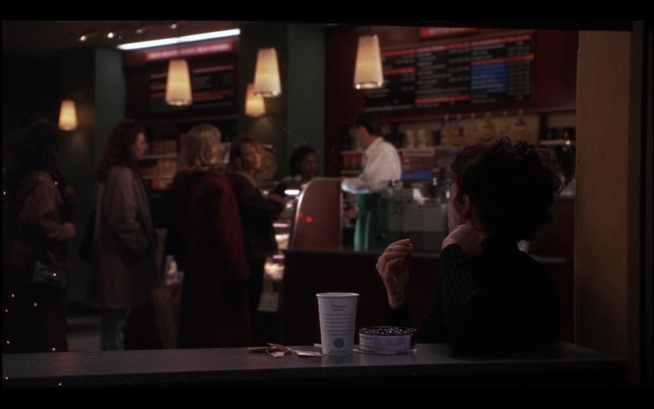 Starbucks Coffeehouse Chains – Michael (1996) Movie Product Placement