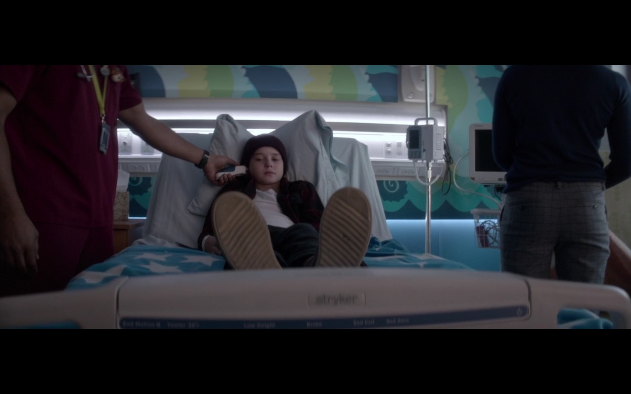 Stryker Medical Bed – A Family Man (2016) Movie Product Placement