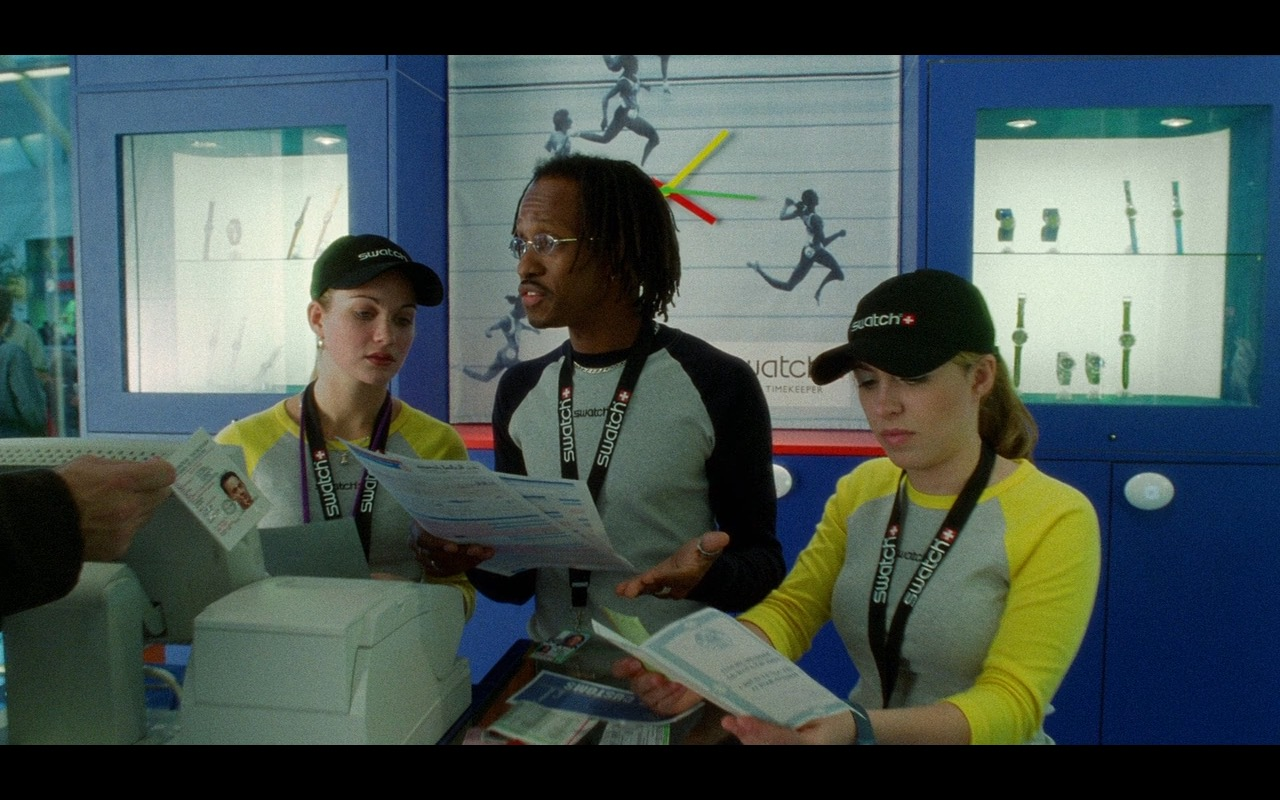 Swatch Watch Store – The Terminal (2004) Movie Product Placement