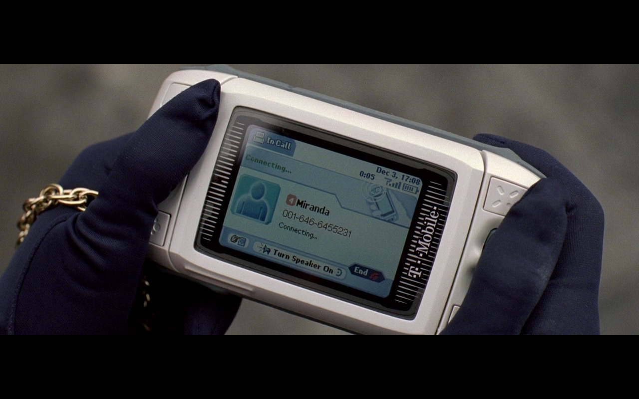 T-Mobile Mobile Phone – The Devil Wears Prada (2006) Movie Product Placement