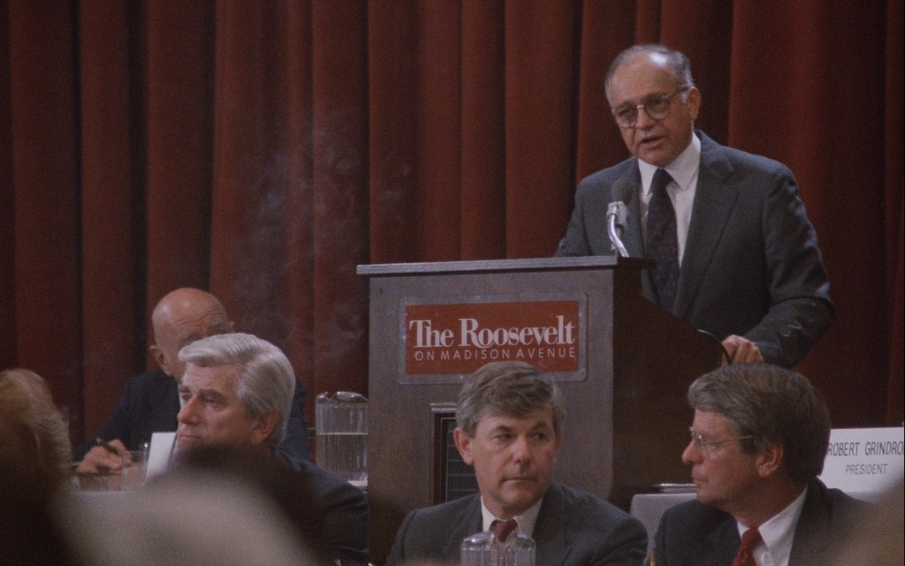 The Roosevelt Hotel – Wall Street (1987) Movie Product Placement