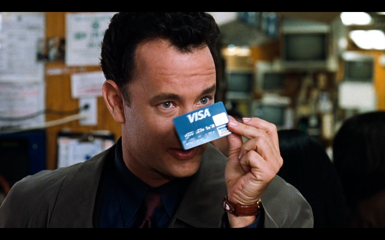 VISA card – You've Got Mail (1998) Movie Product Placement