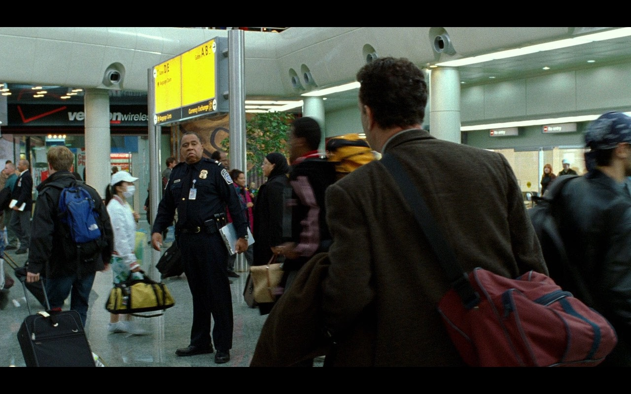 Verizon Wireless Store – The Terminal (2004) Movie Product Placement