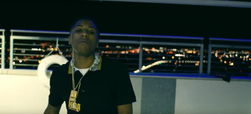 Versace Polo Shirt – YoungBoy Never Broke Again – Untouchable Official Music Video Product Placement